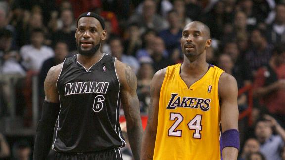 LeBron, Kobe lead All-Star