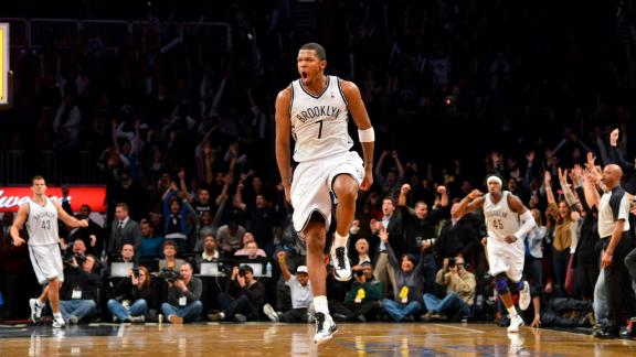 Video - Johnson's Buzzer Beater propels Nets To 2OT Win