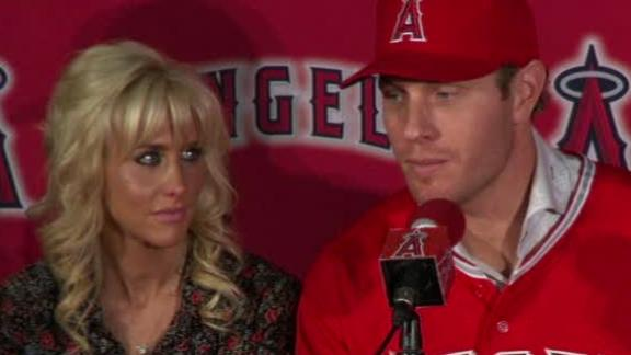 Video - Angels Introduce Josh Hamilton