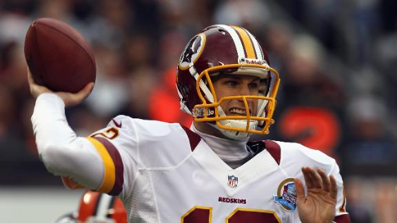 Cousins has 2 TDs in 1st start, leads Redskins