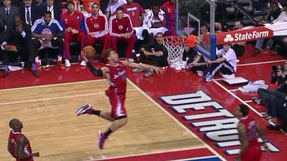 Video - Clippers Top Pistons For 10th Straight Win