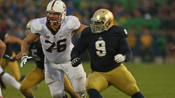 Louis Nix Notre Dame Fighting Irish defensive tackle