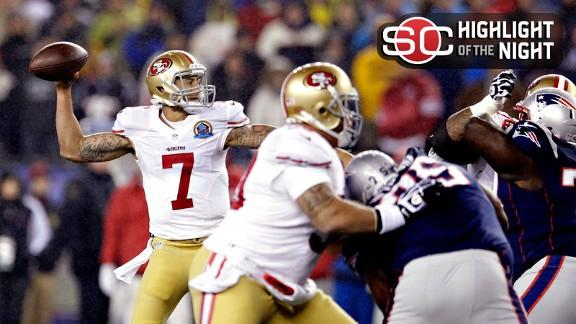 Rapid Reaction: 49ers 41, Patriots 34