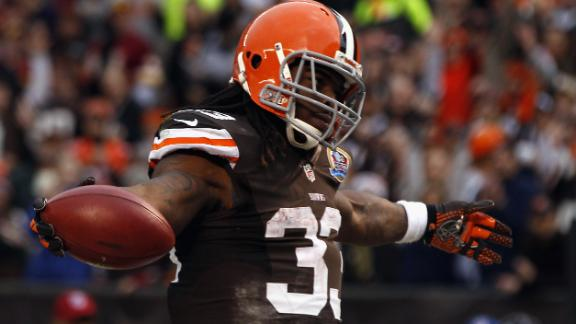 Video - Trent Richardson Not Happy With Game Plan