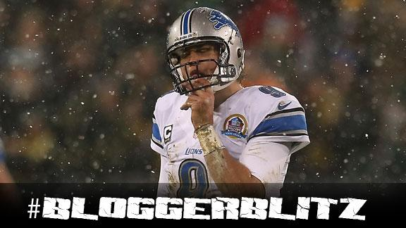 Blogger Blitz: Matthew Stafford's step back