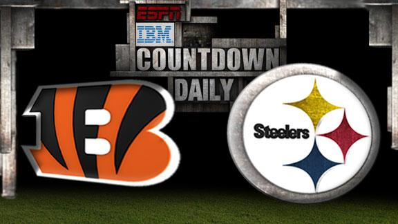 Video - Countdown Daily Prediction: Bengals-Steelers
