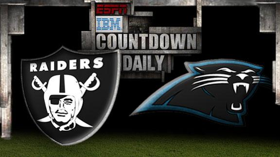 Video - Countdown Daily Prediction: Raiders-Panthers