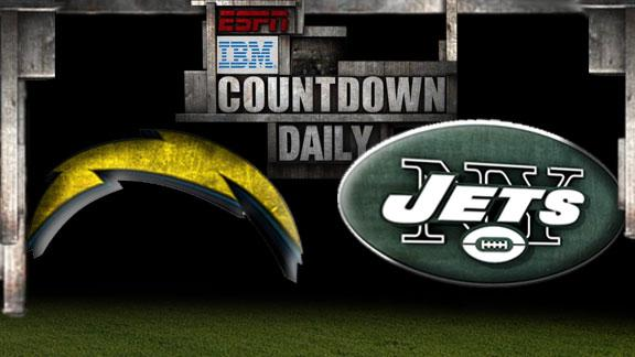 Video - Countdown Daily Prediction: Chargers-Jets