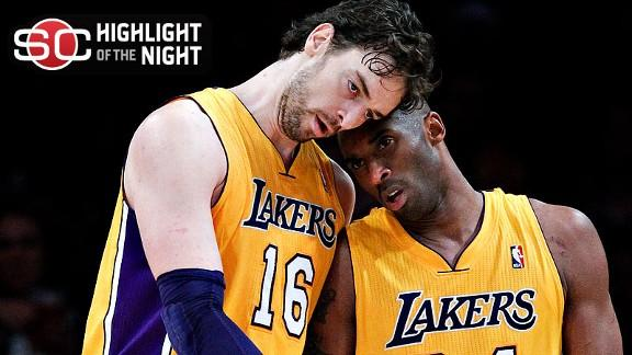 Video - Lakers Erase Deficit, Top Bobcats
