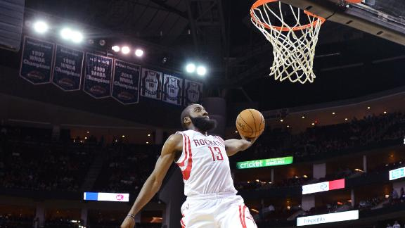 Video - Harden Scores 33 As Rockets Top Struggling 76ers