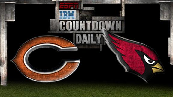 Video - Countdown Daily Prediction: Bears-Cardinals