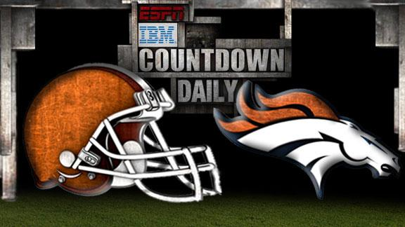Video - Countdown Daily Prediction: Browns-Broncos