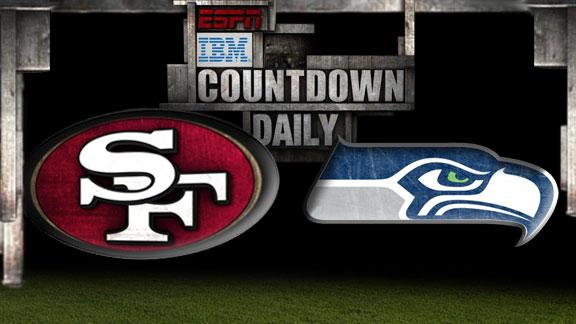Video - Countdown Daily Prediction: 49ers-Seahawks