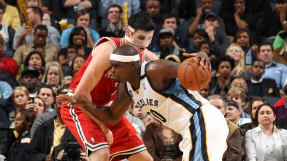 Video - Randolph, Gasol Lift Grizzlies
