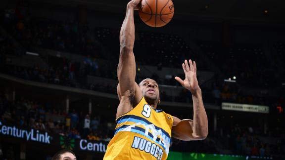 Nuggets' Lawson exits game with Achilles strain
