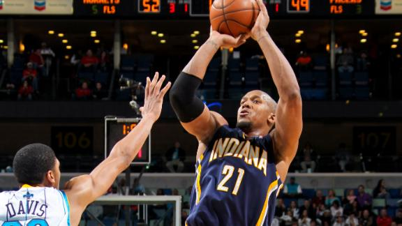 Pacers rally, send Hornets to 11th straight loss