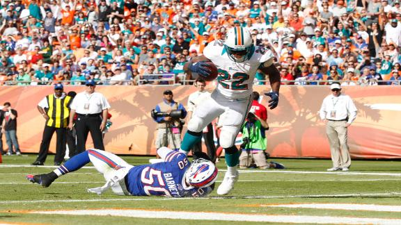 Video - Reggie Bush Scores 3 TDs In Dolphins Win