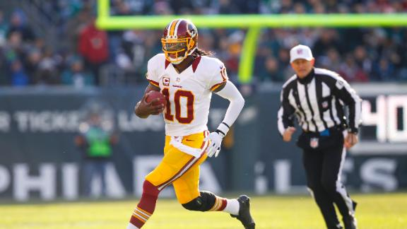 Video - RG III Returns To Lead Redskins Past Eagles