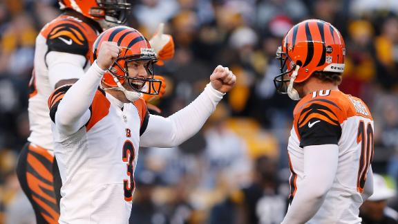 Bengals stun Steelers, secure postseason spot
