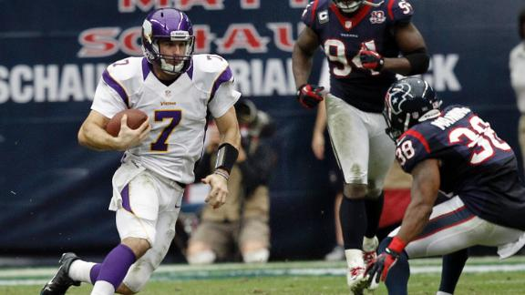 Video - Vikings Stun Texans 23-6