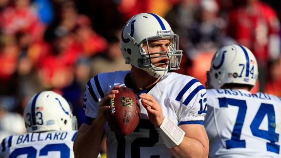Video - Luck Leads Colts Into Playoffs