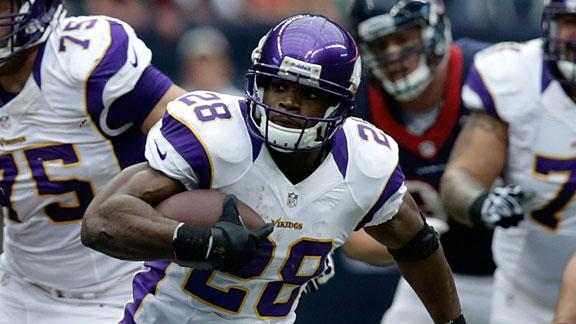 Packers aim to keep Peterson from record
