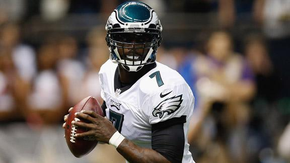Vick doesn't see Week 17 start as 'audition'