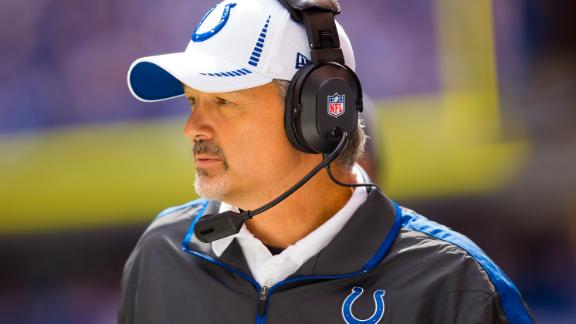 Pagano back at work for playoff-bound Colts