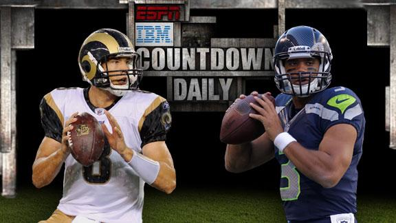 Video - Countdown Daily AccuScore: STL-SEA