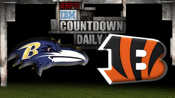 Video - Countdown Daily Prediction: Ravens-Bengals