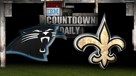 Video - Countdown Daily Prediction: Panthers-Saints