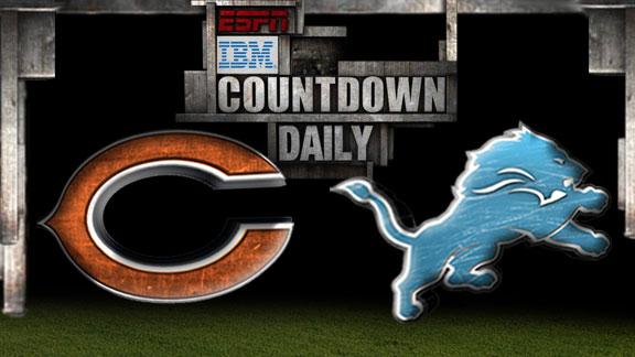 Video - Countdown Daily Prediction: Bears-Lions