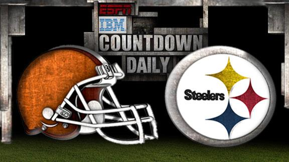 Video - Countdown Daily Prediction: Browns-Steelers