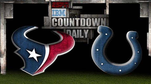Video - Countdown Daily Prediction: Texans-Colts