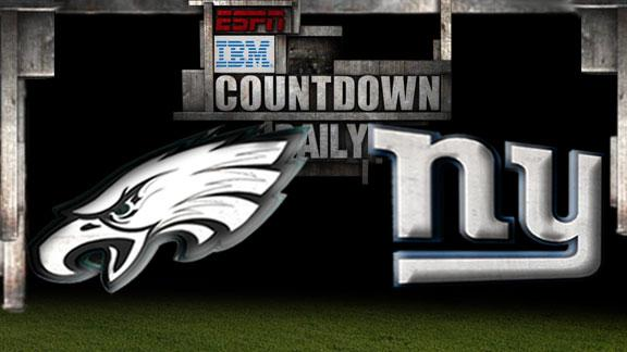 Video - Countdown Daily Prediction: Eagles-Giants