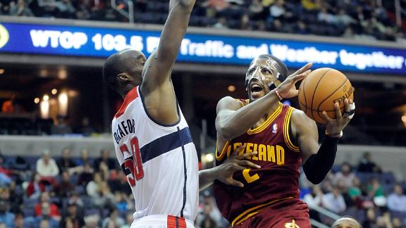 Cavs edge Wiz to put together win streak