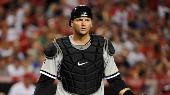 Video - Pierzynski Signs 1-Year Deal With Rangers