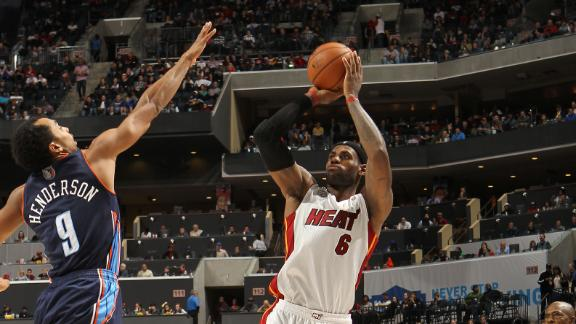LeBron, Heat easily handle hapless Bobcats