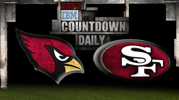 Video - Countdown Daily Prediction: Cardinals-49ers