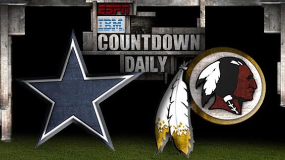 Video - Countdown Daily Prediction: Cowboys-Redskins