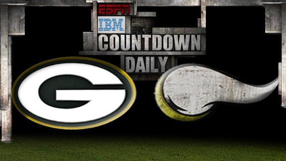 Video - Countdown Daily Prediction: Packers-Vikings
