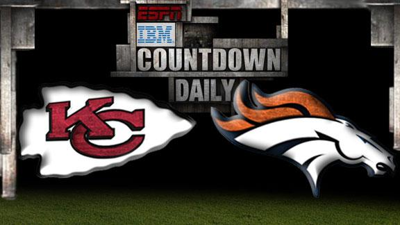 Video - Countdown Daily Prediction: Chiefs-Broncos