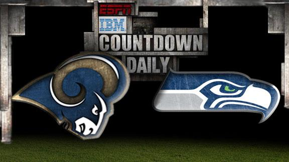 Video - Countdown Daily Prediction: Rams-Seahawks