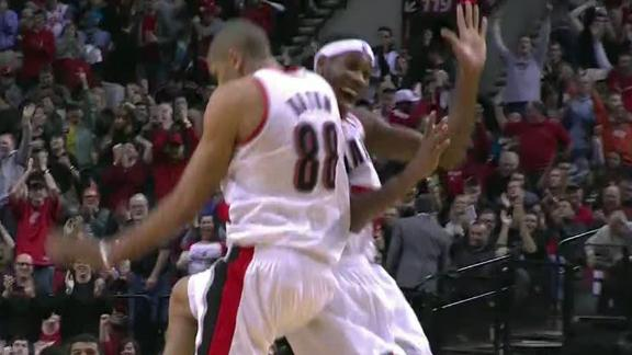 Video - Blazers Make Easy Work Of Kings