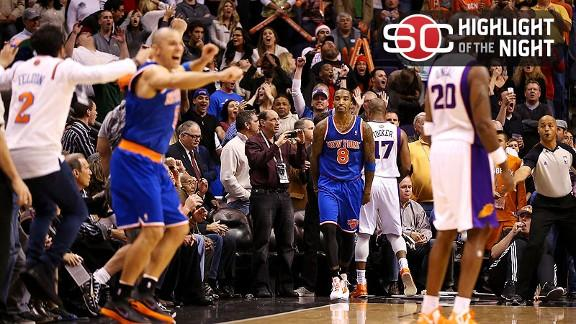 Knicks' Anthony, Felton sidelined for game vs. Suns
