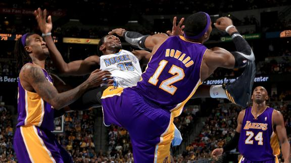 Lakers' Howard fined $35,000 after flagrant foul
