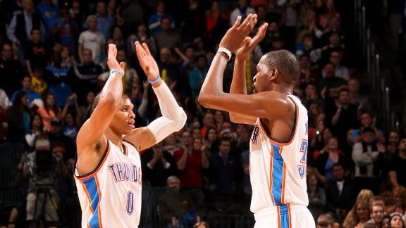Video - Durant, Thunder Top Mavs In OT