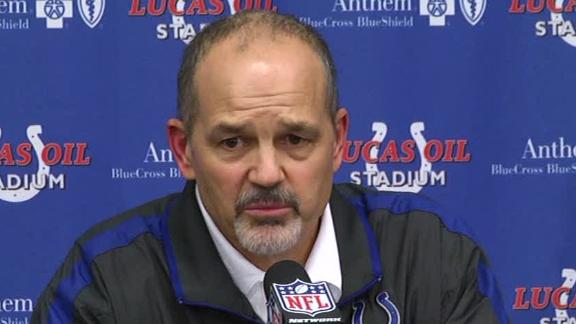 Video - Chuck Pagano Discusses Return
