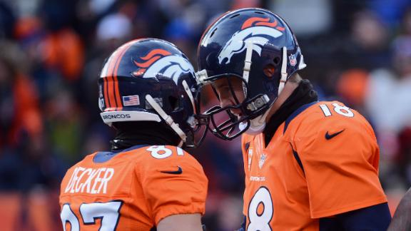 Broncos grab top seed; Chiefs get 1st pick