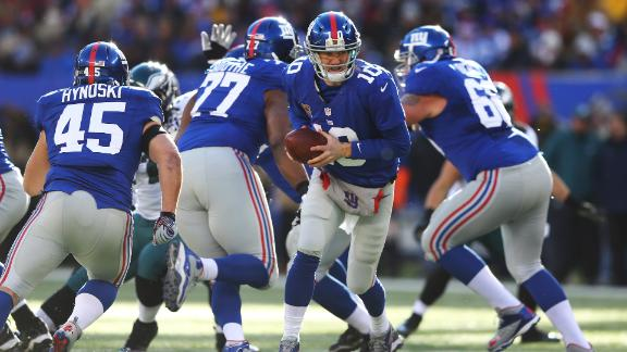 Giants eliminated from playoffs despite blowout